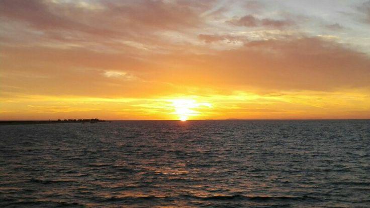 Sunrise, baja California sur