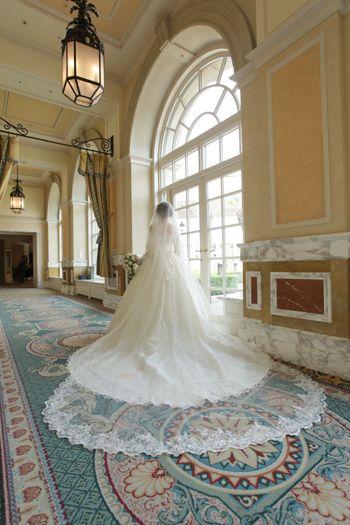 美しいウェディングドレス特集 ドレスは「メロディ」のオーダー変更 ホテル ミラコスタでのお式です♡