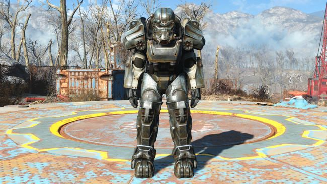 Fallout 4 - Life Size T-60 Power Armor for Cosplay Free Papercraft Download