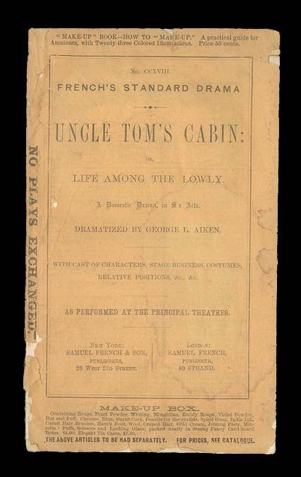 best uncle tom s cabin images harriet beecher uncle tom s cabin harriet beecher stowe s anti slavery novel dramatized french s standard drama book c