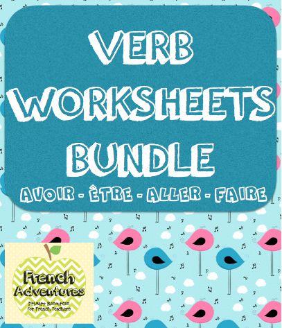 Verb Worksheets Bundle!