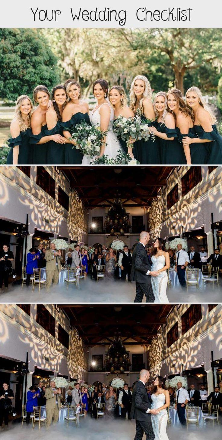 hunter green bridesmaids dresses   Emma Anne   Orlando Wedding Planner - Plan It Events   www.planitcfl.com/blog #BridesmaidDressesTeaLength #BridesmaidDressesSequin #BridesmaidDressesTwoPiece #DifferentBridesmaidDresses #BlackBridesmaidDresses