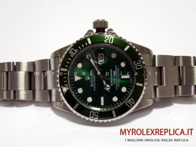Rolex Submariner Date Replica Quadrante Verde