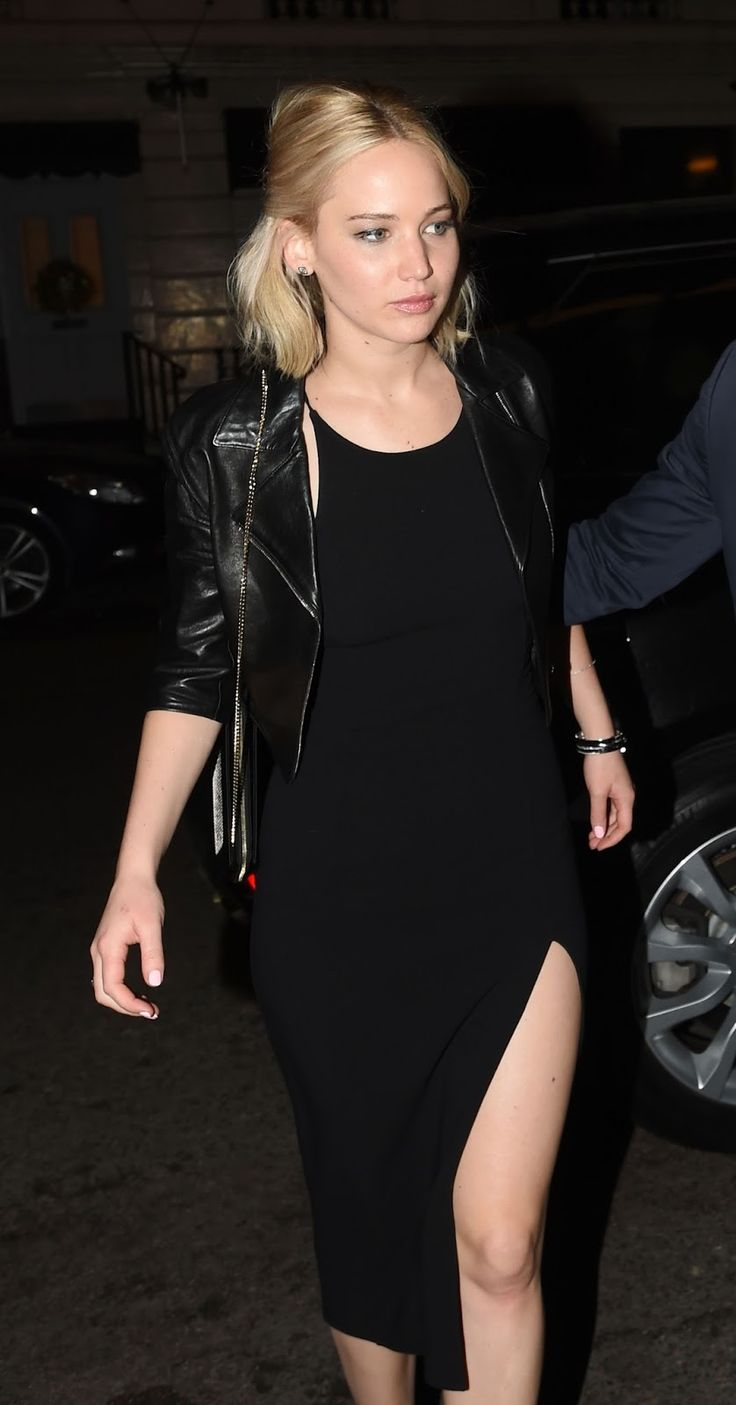 Jennifer Lawrence at Chiltern Firehouse on London (December 17)