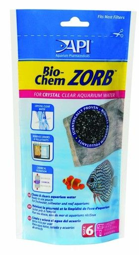 API Bio-Chem Zorb Pouch Filtration Material Unique Ion Exchange Resin Size 6
