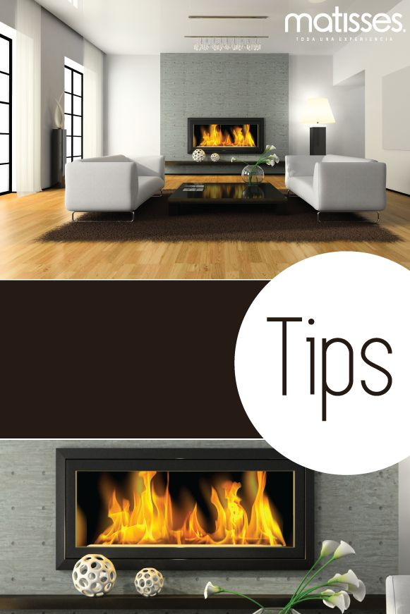 Tips para decorar un living con chimenea las chimeneas - Como decorar un salon con chimenea ...