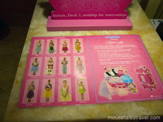 Bibbidi Bobbidi Boutique Disney Fantasy Royal Sea Package