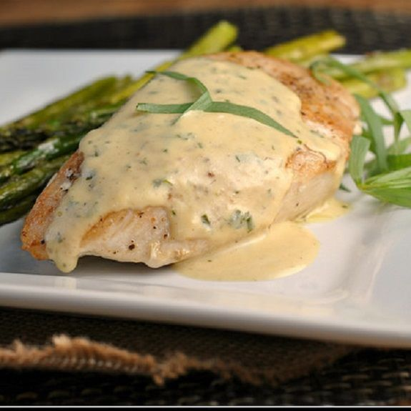 Oven baked creamy mustard chicken breasts.Chicken breasts with creamy mustard sauce baked in oven.Easy and yummy.