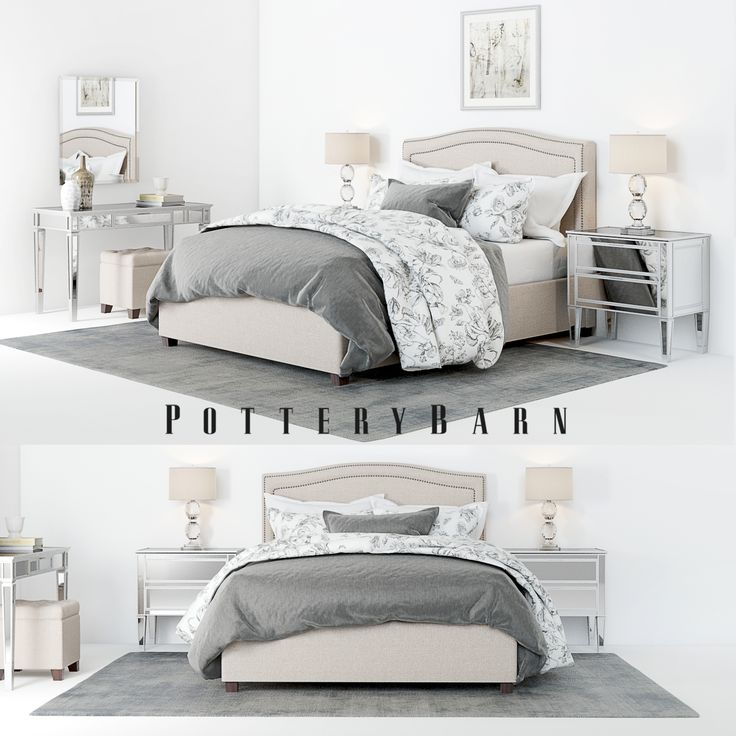 Pottery Barn Tamsen Bedroom Set With Decor In 2019