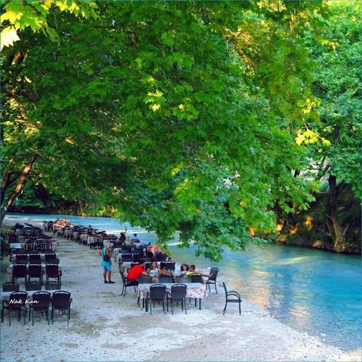 Aheron river, Epirus,Greece