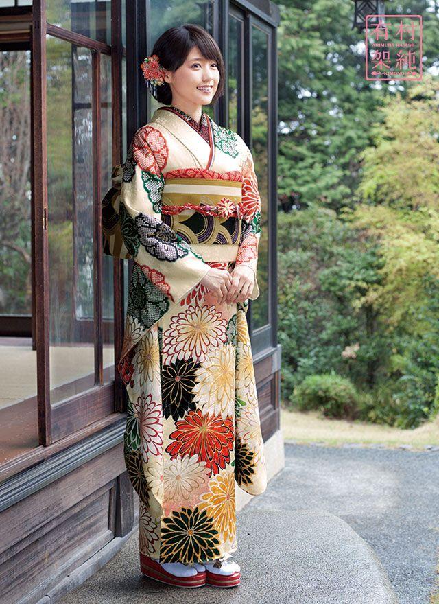 有村架純振袖 AK-26 Kasumi Arimura kimono AK-26