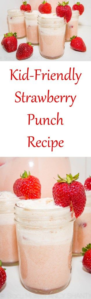 Kid Friendly Strawberry Punch Recipe
