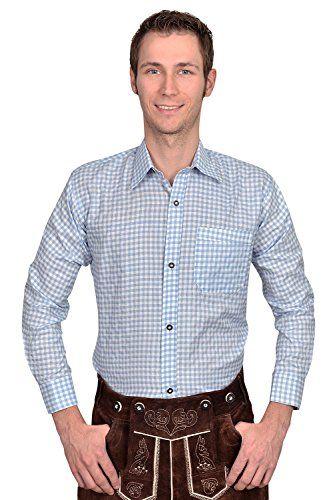 #Wiesn #Oktoberfest #Trachten #Herren #Hemd #hellblau #weiß #kariert #Gr #XXXL Trachten Herren Hemd hellblau weiß kariert Gr XXXL, , Trachten Hemd kariert in vielen verschiedenen Farben, mit Trachtenknöpfen, Ärmel können problemlos nach oben gekrempelt und mit einem Knopf und Schlaufe befestigt werden, aufgenähte Brusttasche, mit Polyester Anteil für weniger Knittern und leichteres Bügeln