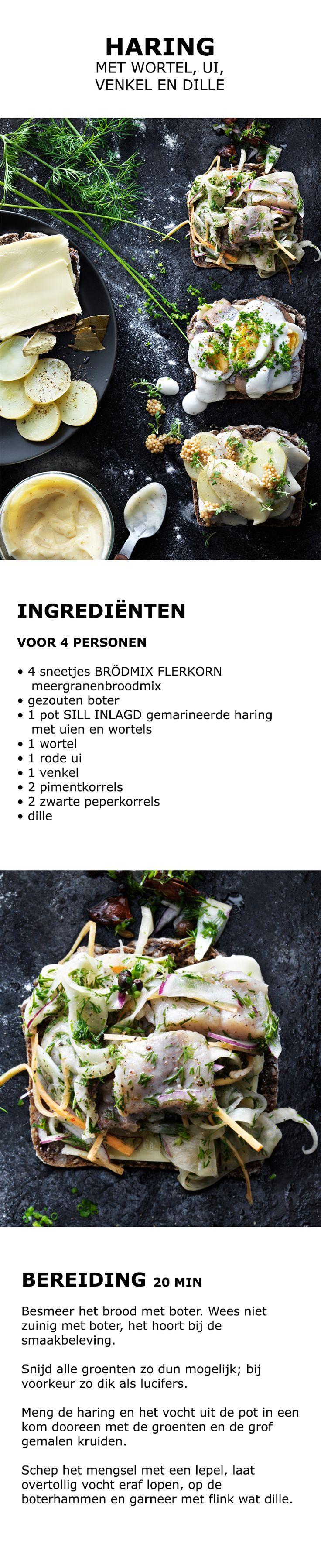 Inspiratie voor de feestdagen - Haring met wortel, ui, venkel en dille | IKEA IKEAnederland koken keuken recept herfst winter kerst diner lunch zweeds gerecht menu