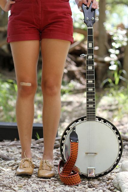 i will learn how to play the banjo mark my words
