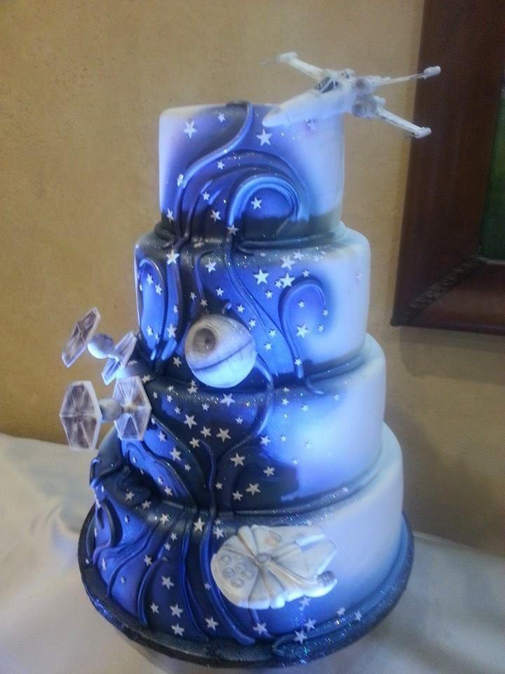 Best 25 Star Wars Wedding Cake Ideas On Pinterest
