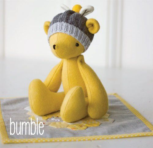 """""""Bumble"""" designed by Simone Gooding for May Blossom."""