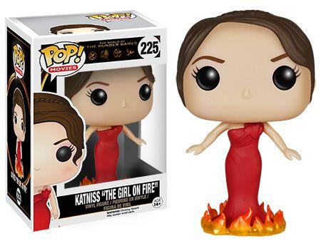 "Funko releasing Katniss ""The Girl on Fire' pop vinyl from The Hunger Games"