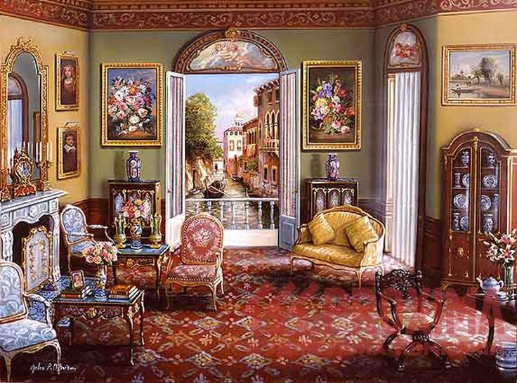 Venetian Decor   Venetian style