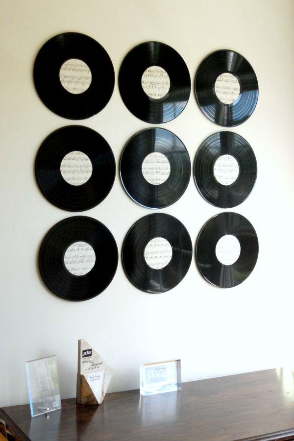 Diy Vinyl Record Wall Art : Best record wall art ideas on decor