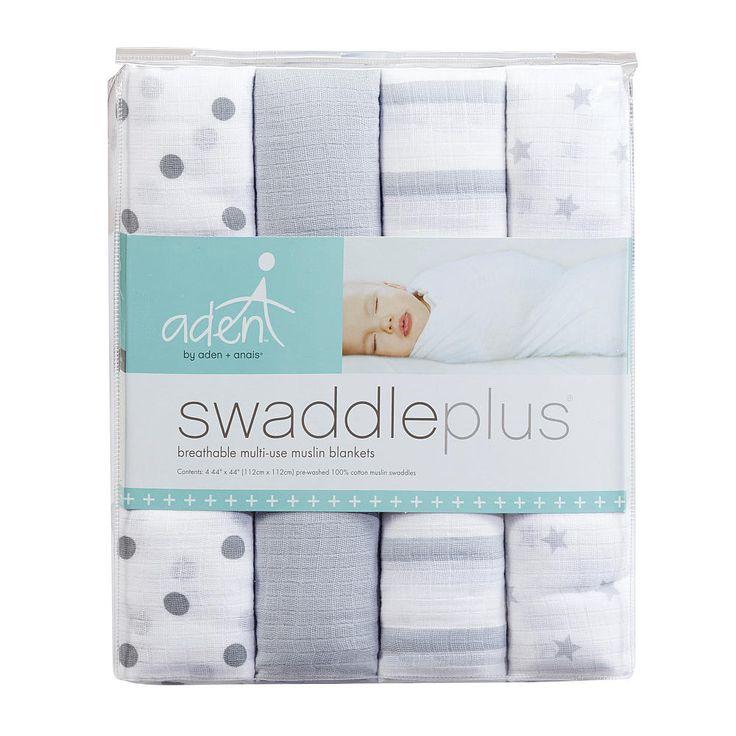 Aden + Anais 4pk Muslin Blankets Dove