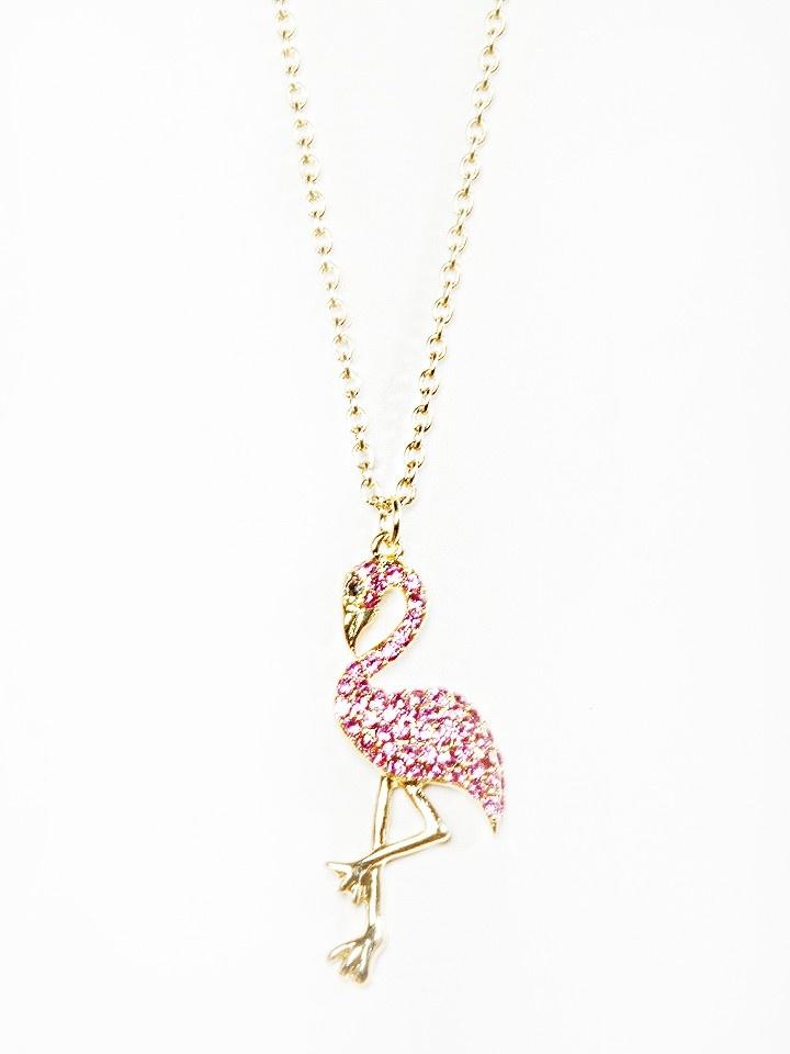 Flamingo Necklace - Jewelry - Accessories