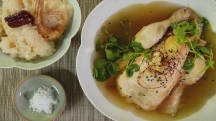 How to make the perfect Magical Chicken Ginseng Soup by Judy Joo on Food Network UK.