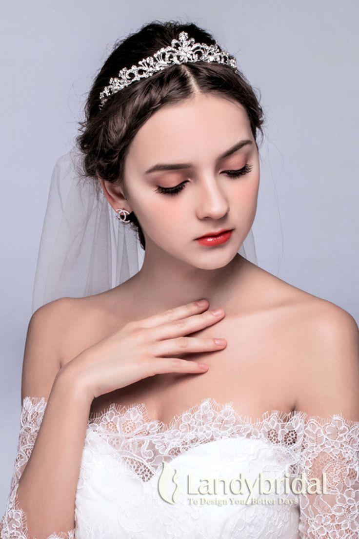 ティアラ 人気新品 ウェディング小物 アクセサリー 結婚式 花嫁 JJ0015005