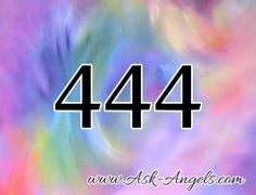 The angel number 444 carries a powerful message from the angels... That you have angels with you! Click to learn more about the numerology of the angel number 444.
