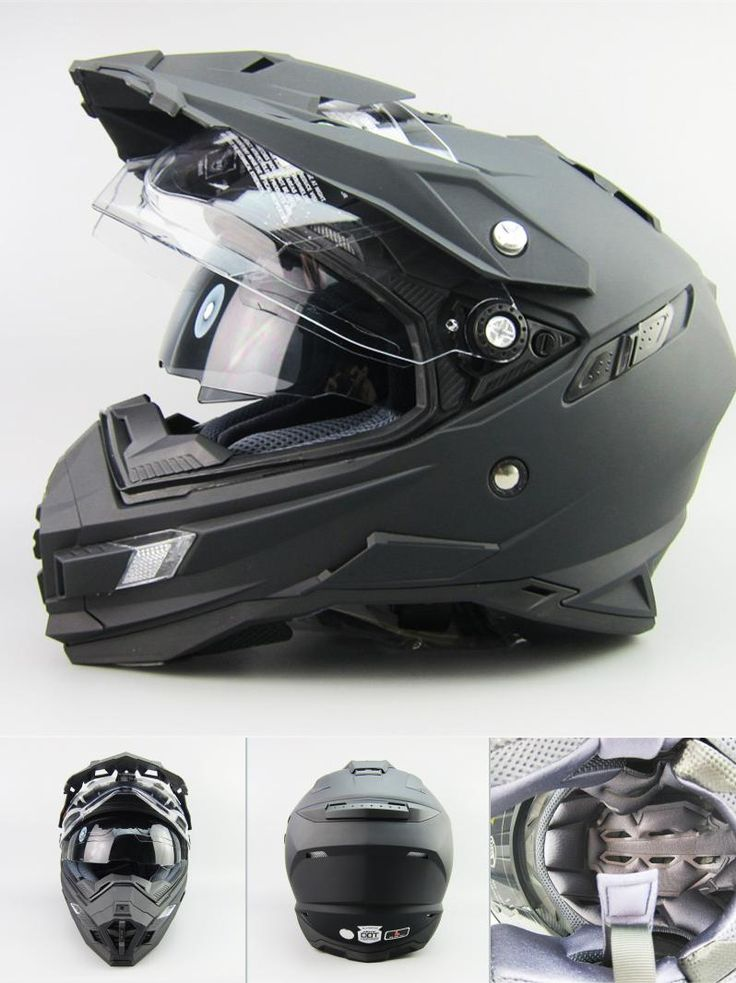 [Visit to Buy] TOP Brand Motocross High Quality THH Double Lens Off-road Helmets CASCO Motorcycle DOT Approved Riding Racing Helmet #Advertisement