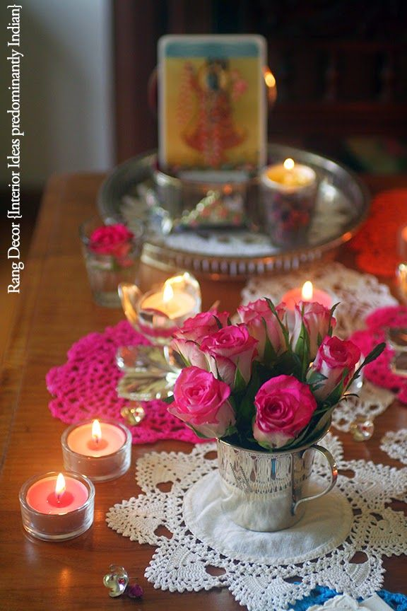 640 best diwali decorations images on pinterest for Room decoration ideas in diwali