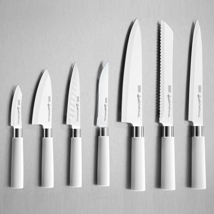 Beem Germany 8 Piece Kyu Kabu Ceramic Knife Set With Block