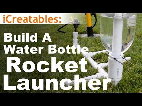 how to build the simplest water rocket launcher