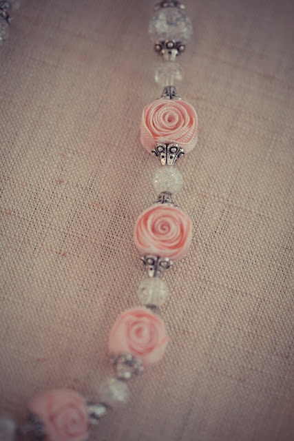 ribbon flower beads