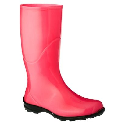 Womens Anna Neon Rain Boots - Assorted Colors Store display rain boots