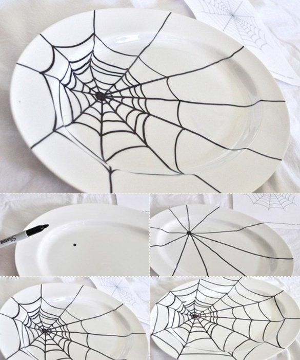 Easy and Fast Last Minute DIY Halloween Decorations