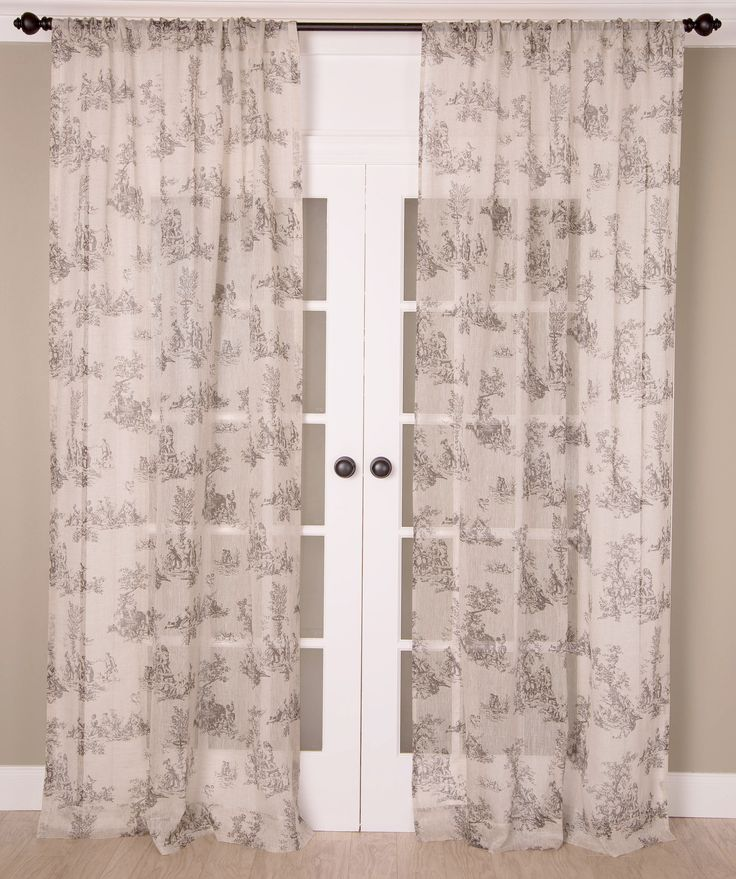 25 Best Toile Curtains Trending Ideas On Pinterest Tab Top Curtains Toile And Burlap Curtains