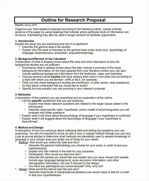 Project Proposal Outline Sample Awesome 12 Project Proposal Outline Templates Pdf Word Writing A Business Proposal Project Proposal Template Outline Sample