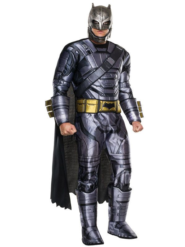 Batman V Superman: Dawn of Justice - Deluxe Batman Armored Men's Costume