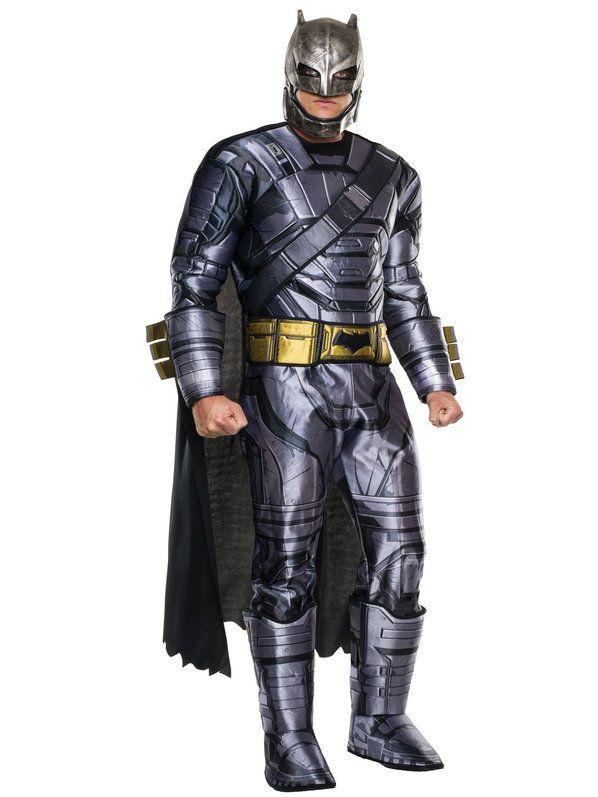 Batman V Superman: Dawn of Justice - Deluxe Batman Armored Adult Costume