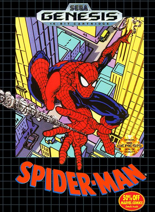 spiderman the animated series sega genesis