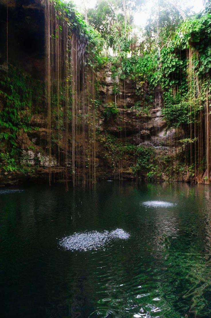 Cenotes Ikil (México)PISCINAS NATURALES EN LUGARES INSOSPECHADOS