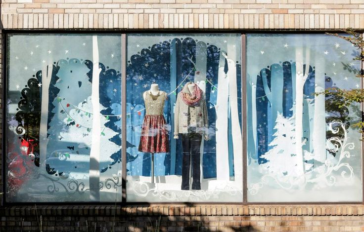 Anthropologie Holiday Windows 2012