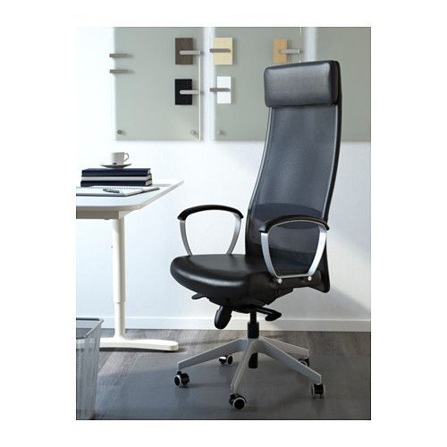 MARKUS Swivel chair - Glose black - IKEA