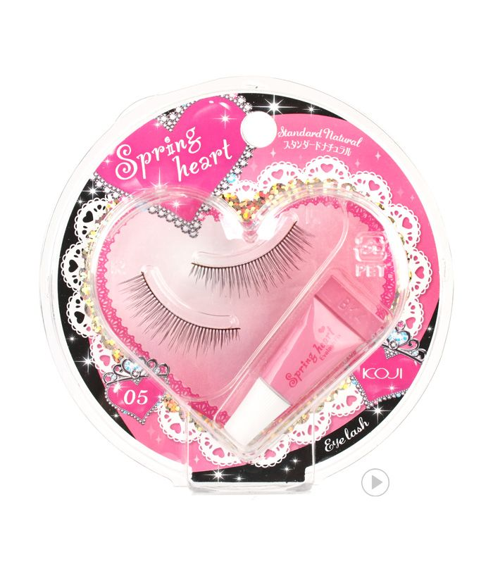 Spring Heart Eyelash 05 Standard Naturau