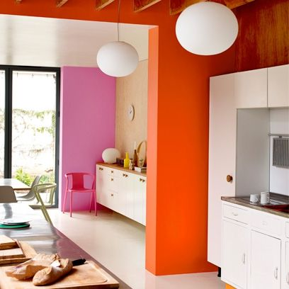 bump up the colour in your home with our colour blocking decorating ideas plus other ideas for your home from red online - Home Decorating Ideas Painting
