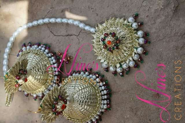 Flower Jewellery For Mehndi Uk : The best images about mehndi jewellery on pinterest