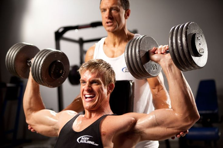 #фитнес#тренировки #самый_результативный_проект #BodyFit #Спортлайф#Витаспорт Программа тренинга: набор массы Здесь количество повторений будет равно 6. То есть, мы работаем с большими весами, на малое количество повторений, «взрывая» наши мышцы, дав им первый толчок для роста. Тренируемся 3 раза в неделю, через день (пн, ср, пт или вт, чт, сб). Цикл 1 1 день. Спина, бицепс Становая тяга (классическая или лифтерская) 4 по 6; Подтягивания 3 по 6 (если ты подтягиваешься больше- повесь груз)…