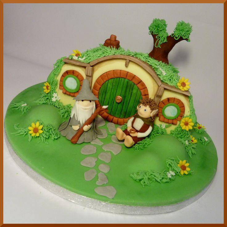 Hobbit Birthday Cake Toppers