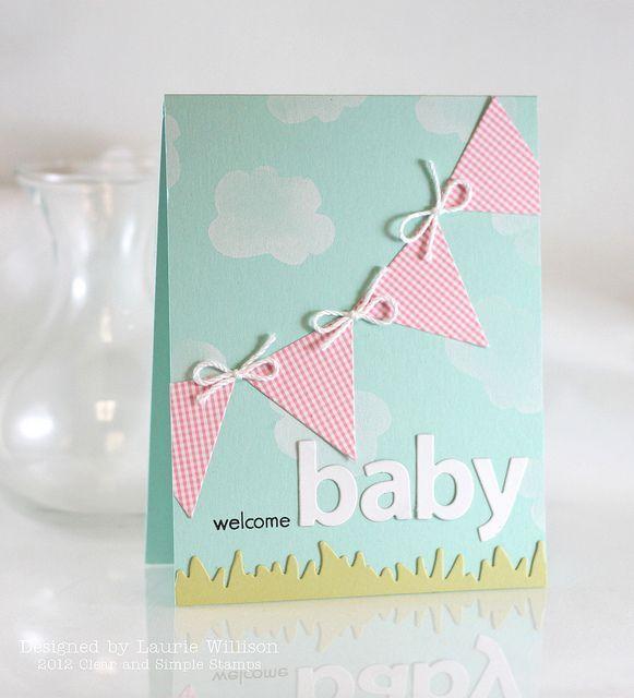 Baby Card | Ideas para el hogar | Pinterest | Baby Cards ...